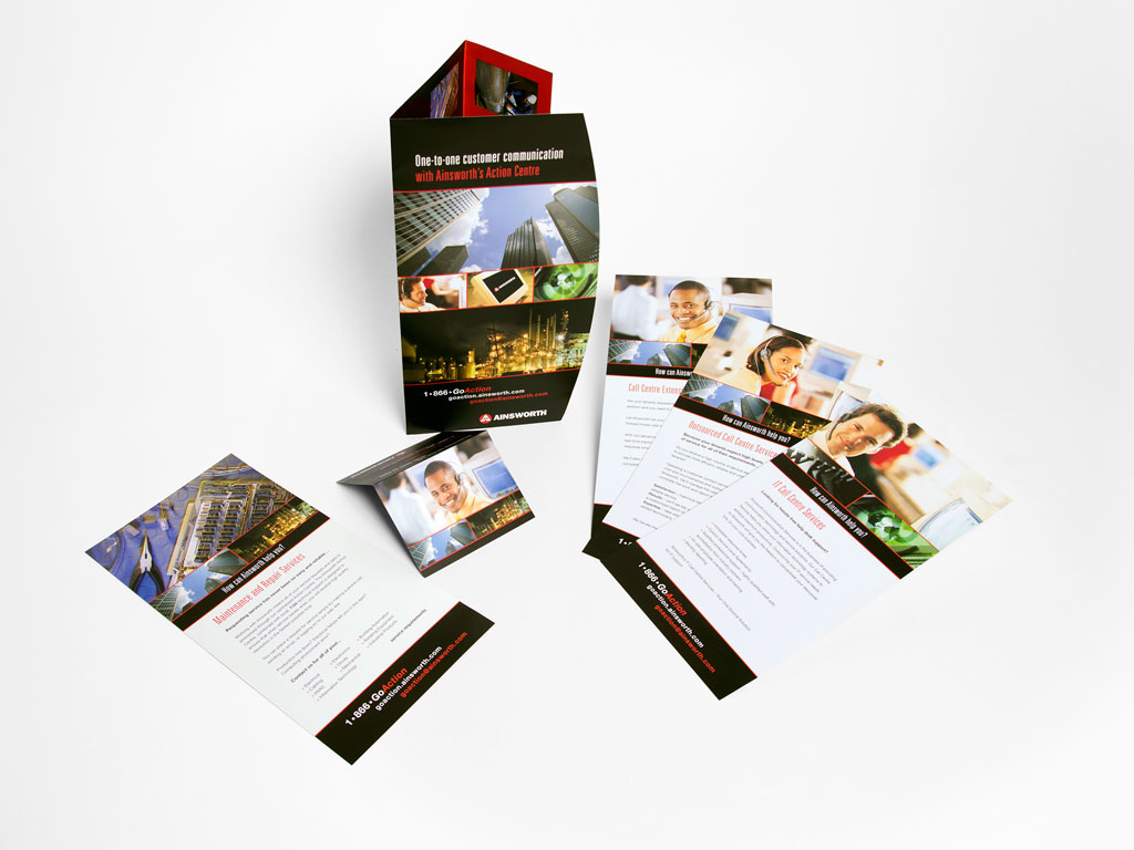 Action Centre Branded Print Components