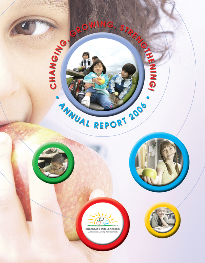 Breakfast For Learning - Annual Report Cover