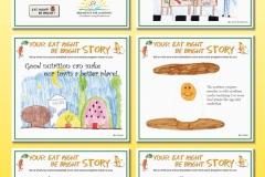 Breakfast For Learning - Poster Celebrating Kids Creativity