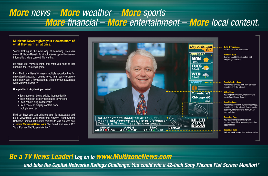 Multizone News US launch - online portal