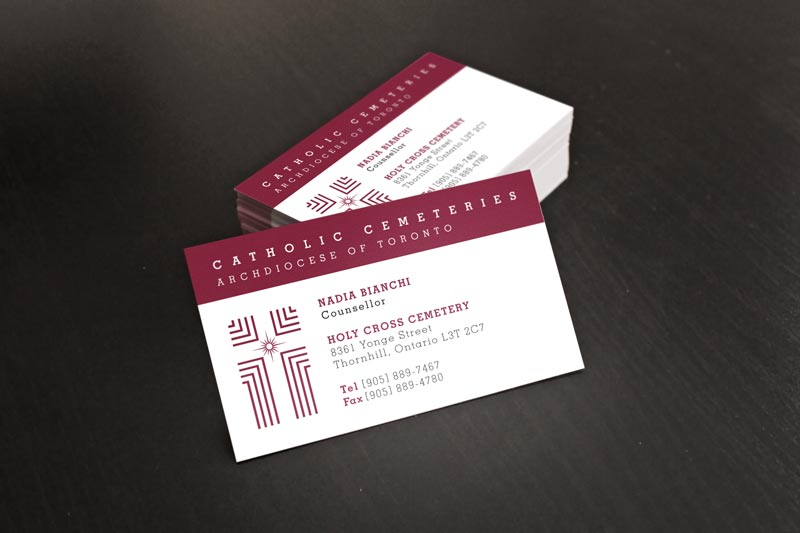 Catholic Business Card