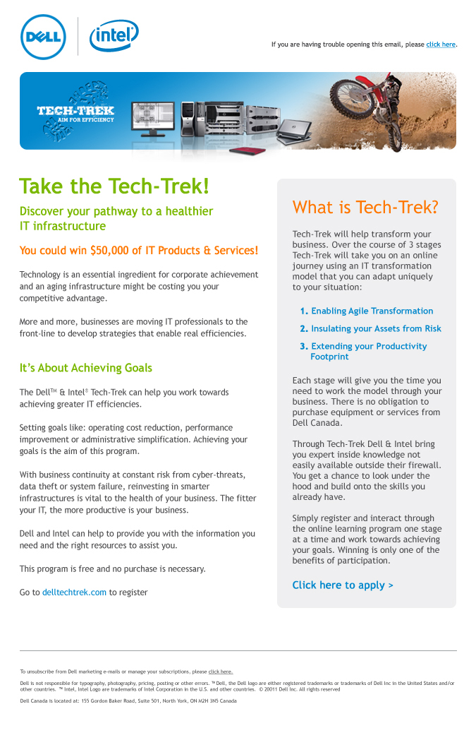 Tech-Trek Recruitment Email - external