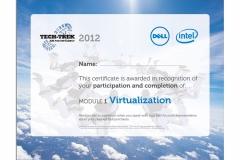 Tech-Trek Certificate on Completion