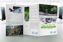 Tech-Trek Brochure Display