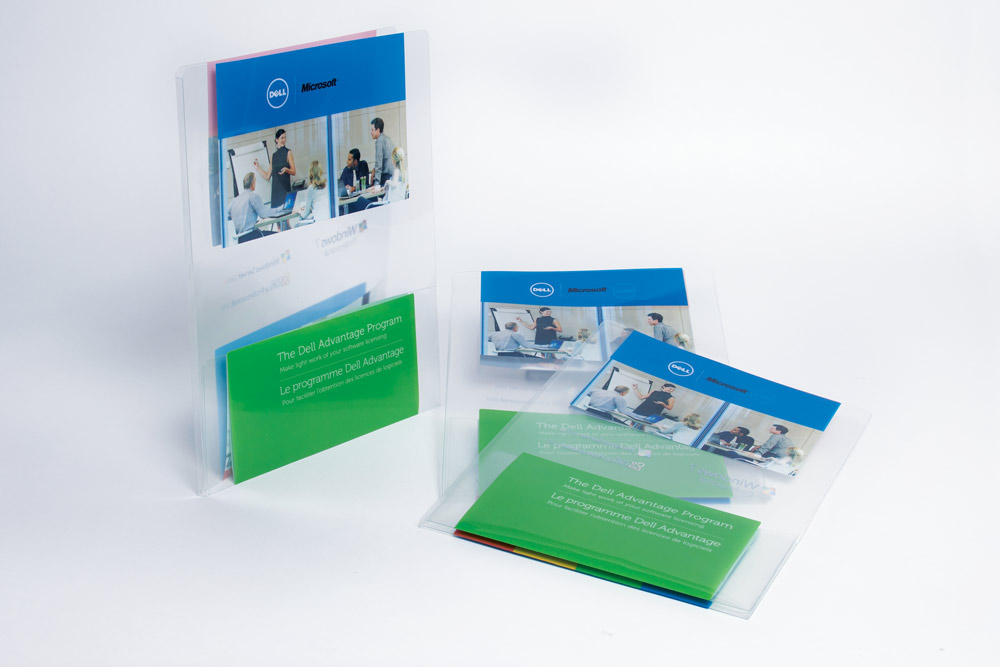 TDA Plastic Folder Display
