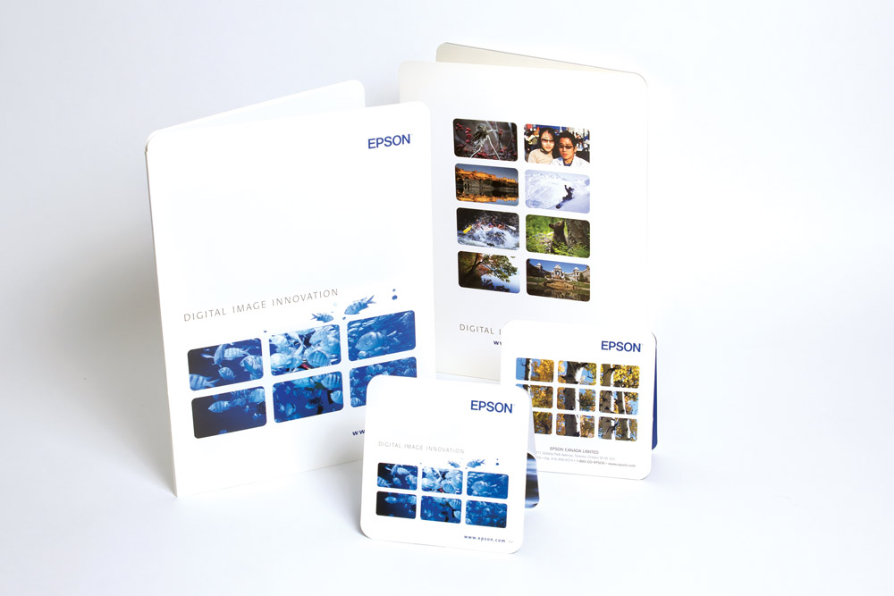 Corporate Folder & Digital Media insert