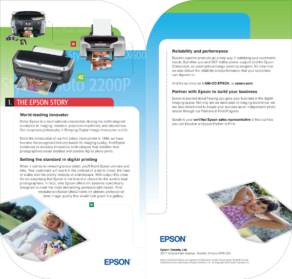 Partner In Print Folder Insert 5