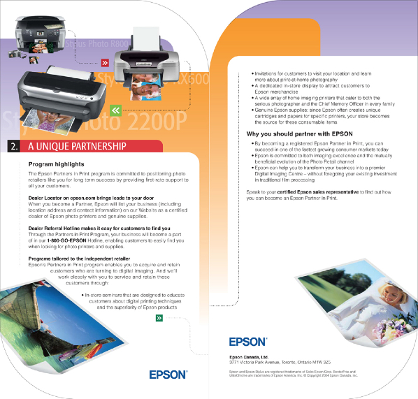 Partner In Print Folder Insert 1