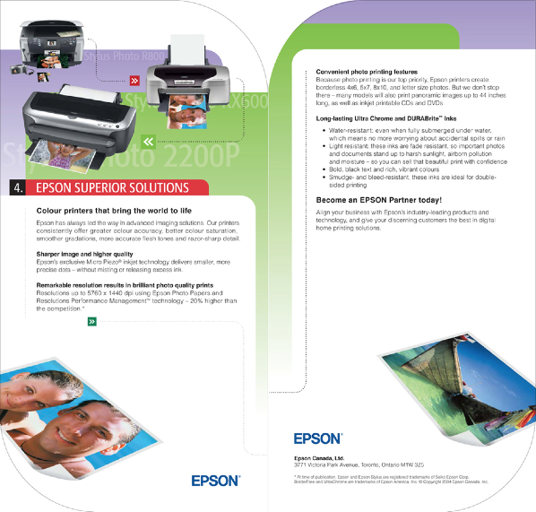 Partner In Print Folder Insert 3