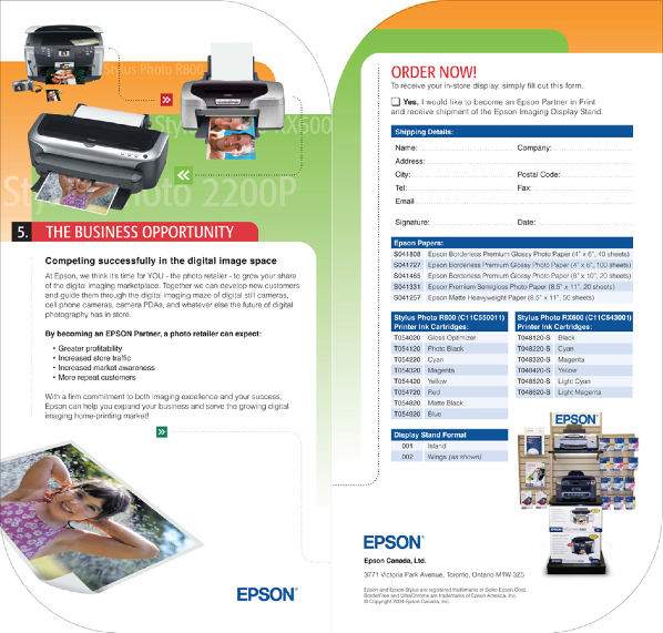 Partner In Print Folder Insert 2