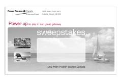 Parts Distributor Sales Promotion Mailer Wrap