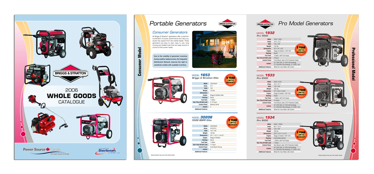 Power Equipment Merchant Catalog