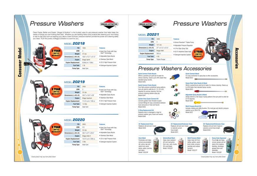 Power Equipment Merchant Catalog - Spread 1