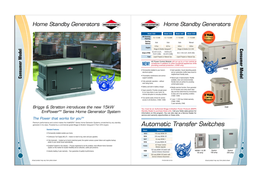 Power Equipment Merchant Catalog - Spread 2