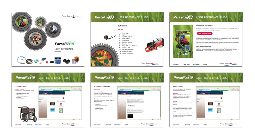 Digital Parts Catalog - User Interface Design